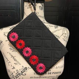 Vera Bradley Flower Wristlet